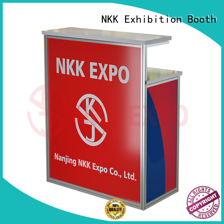 NKK trade show furniture customized for trade fair