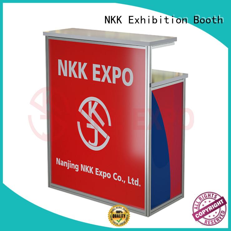 NKK trade show furniture customized for trade fair
