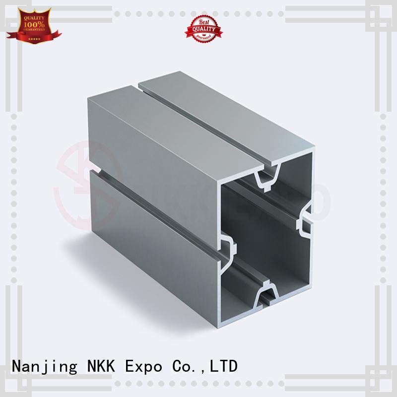 NKK quality aluminium profiles customization for trade show stands