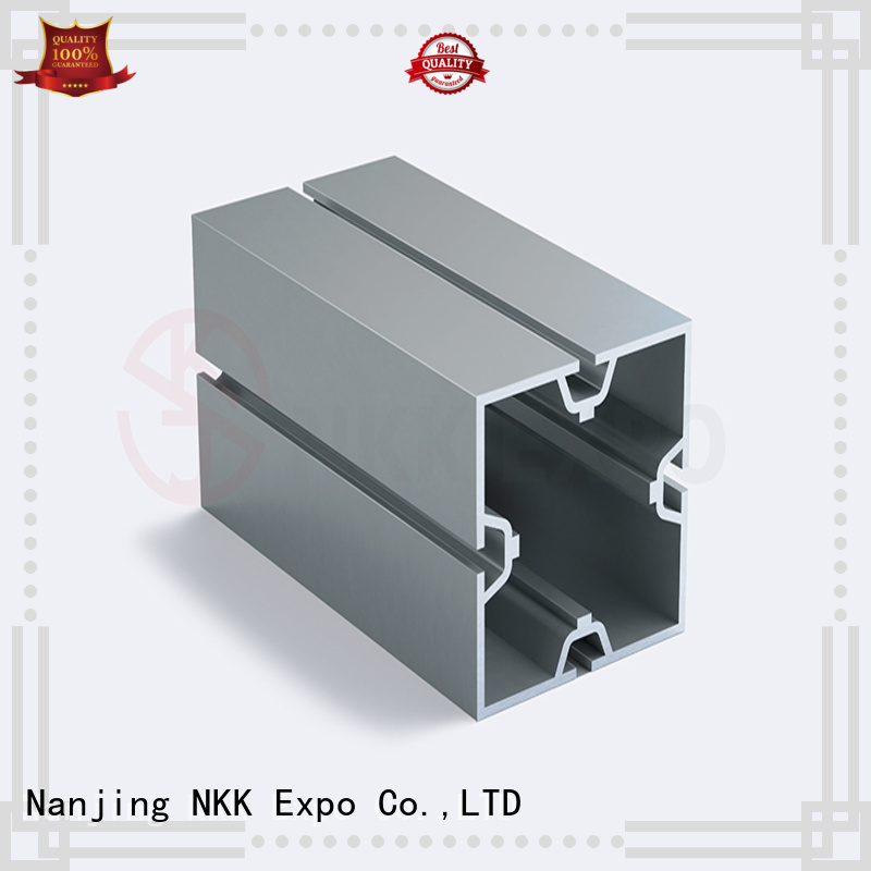 NKK quality aluminium profiles customization for trade show stands