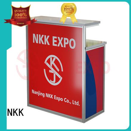 aluminium exhibition furniture customized for expo