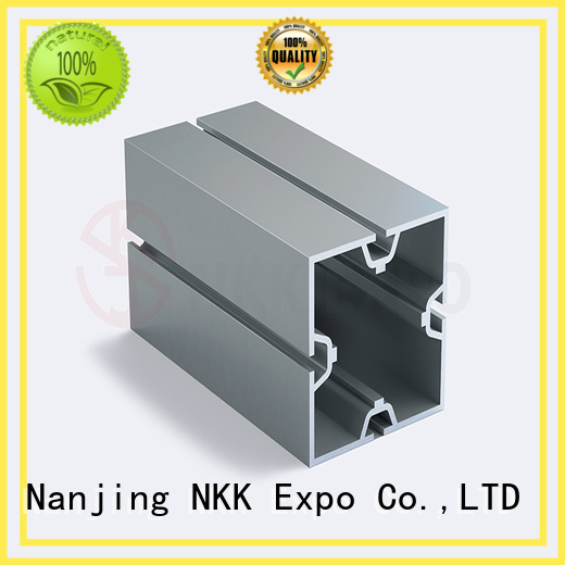 NKK big hole aluminium profiles customization for trade show booth