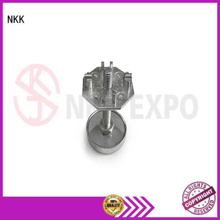 NKK quality aluminium end caps wholesale for trade fair