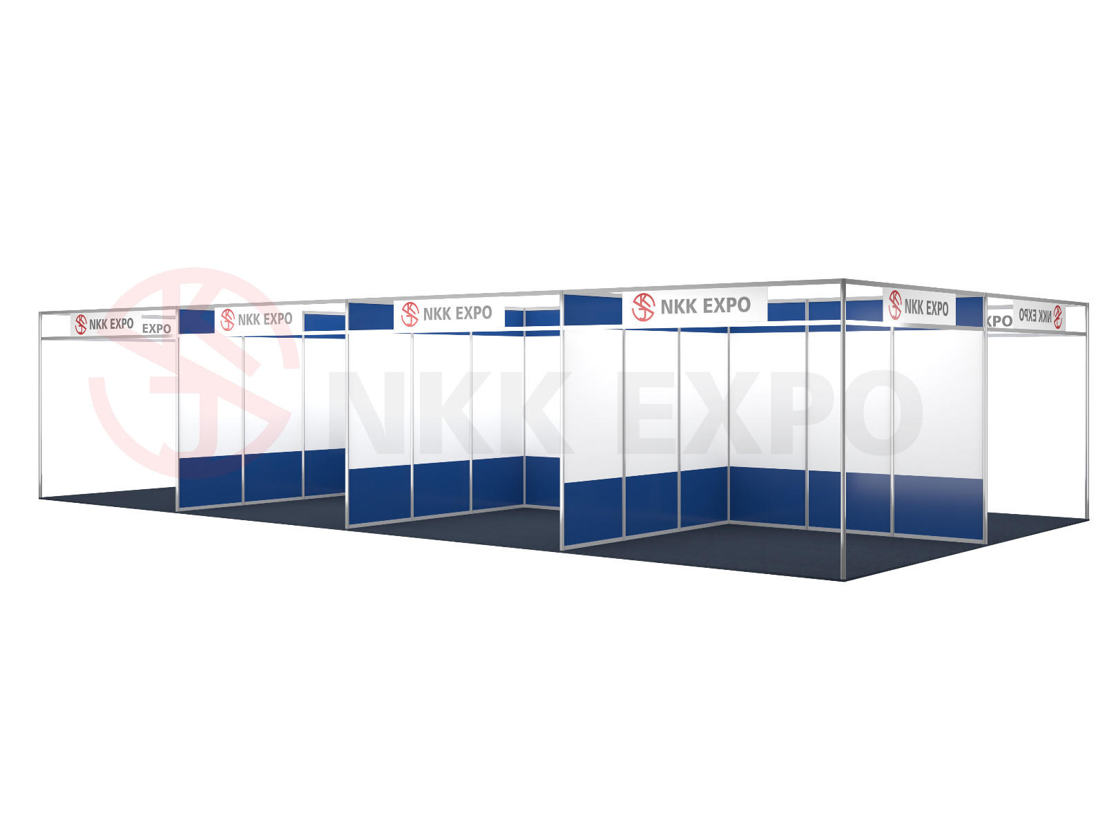 exhibition stall customized for trade display NKK-2