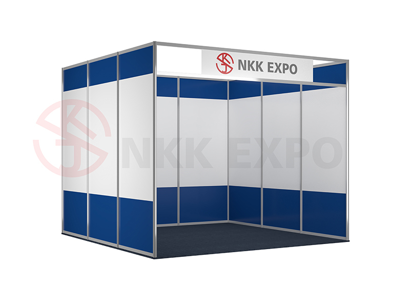 Standard booth for trade fair