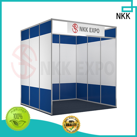 NKK back to back exhibition stand wholesale for trade fair