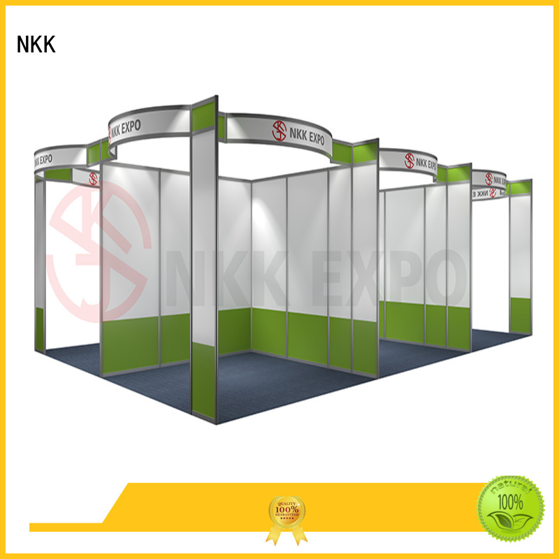 back to back exhibition stall directly sale for trade display