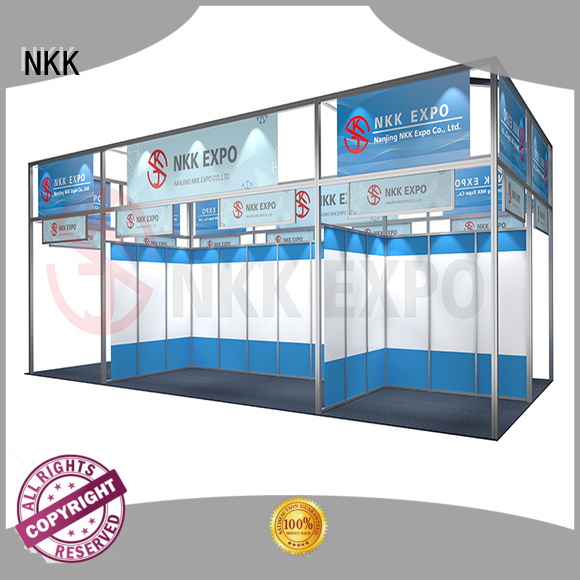NKK long lasting shell scheme supplier for trade fair