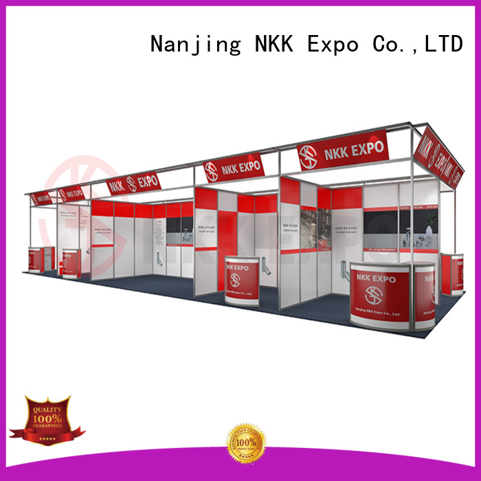 NKK long lasting trade show stands for business