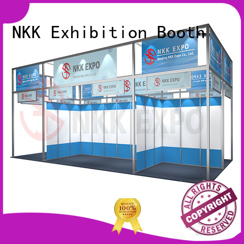 NKK high quality exhibition stall customized for business