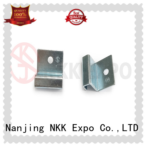 NKK aluminium end caps customized for trade display