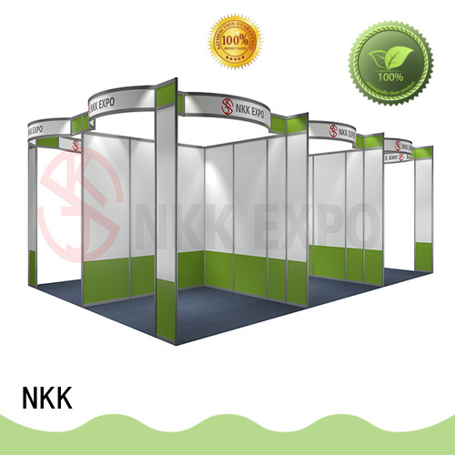high quality standard booth customized for business