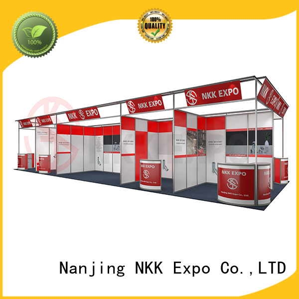 long lasting standard booth customized for trade display