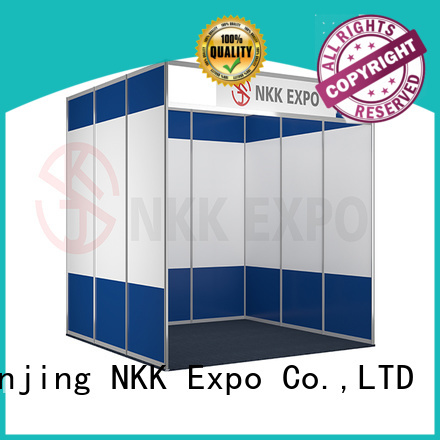 NKK long lasting exhibition booth manufacturer for trade display